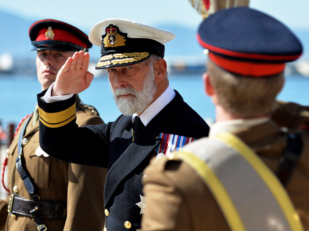 HRH Prince Michael of Kent conducted a military working visit to Gibraltar during the Trafalgar Remembrance weekend.