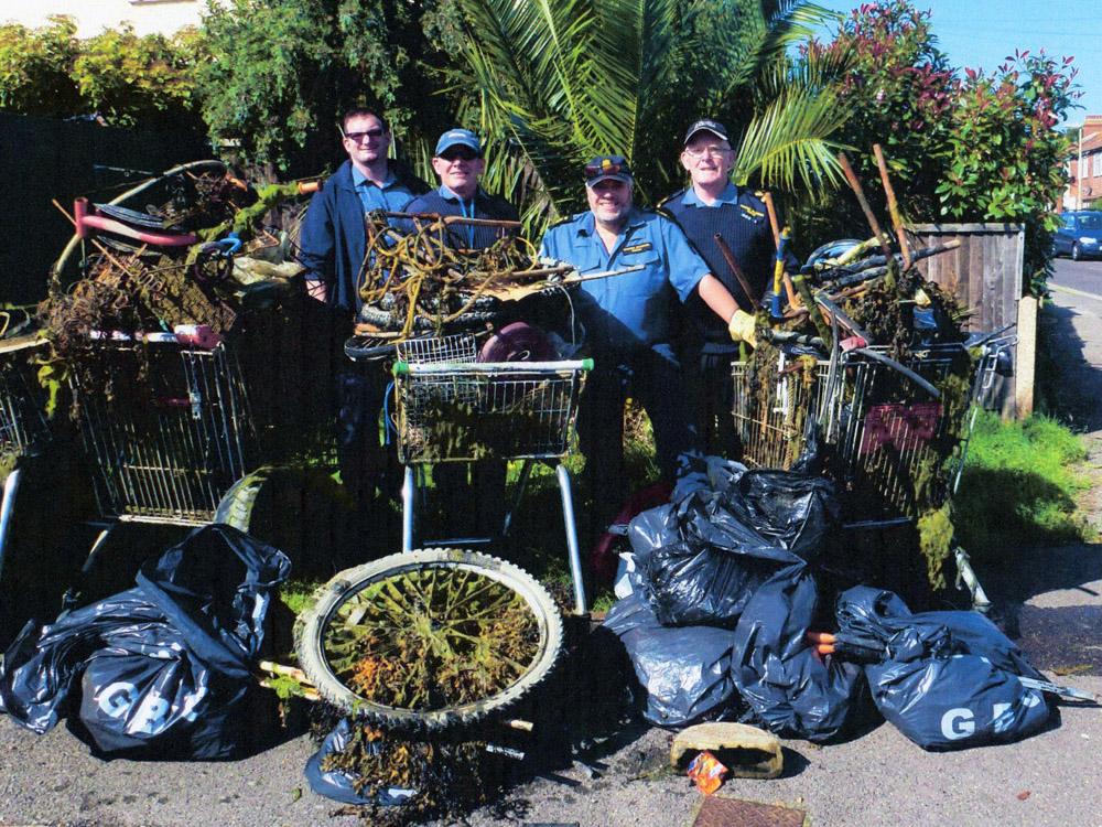 MVS Gosport cleanup